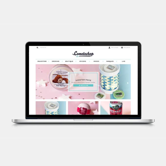 Site internet Cometeshop Version 3